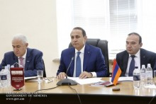 PM Hovik Abrahamyan Attends ASEU Board Meeting