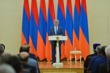 THE PRESIDENT HELD A MEETING WITH THE REPRESENTATIVES OF THE SOCIETY, AUTHORITIES AND CLERGY