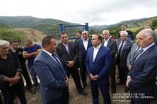 Prime Minister Visits Tavush Marz
