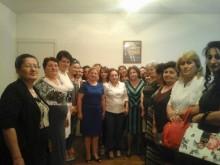 Члены Совета женщин посетили областной офис РПА Арагацотна