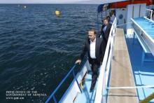 Prime Minister Travels to Gegharkunik Marz