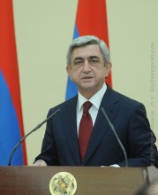CONGRATULATORY MESSAGE OF THE PRESIDENT OF ARMENIA ON THE OCCASION OF NAGORNO KARABAKH INDEPENDENCE DAY