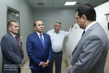 PM Inspects Construction of Radioisotope Generation and Molecular Diagnostics Center