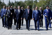 Дань уважения памяти жертв Геноцида армян