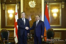 Armenian, Georgian Prime Ministers Discuss Bilateral Cooperation Development Prospects