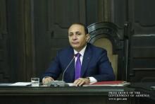 Remarks Delivered by Prime Minister Hovik Abrahamyan at Cabinet Sitting