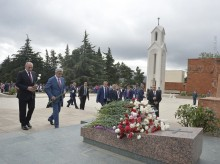PRESIDENT SERZH SARGSYAN IN STEPANAKERT PARTICIPATED AT THE FESTIVE EVENTS DEDICATED TO THE 25TH ANNIVERSARY OF THE CREATION OF THE NKR