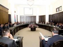 Состоялось очередное заседание Правительства РА