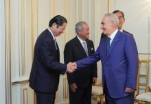 Galust Sahakyan Receives Members of Japan-Armenia Parliamentary Friendship League