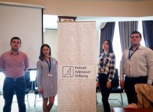 Three-day program «Armenian leadership academy» was held with Young Republicans