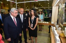 PRESIDENT VISITED THE MADE IN ARMENIA-2016 EXHIBITION