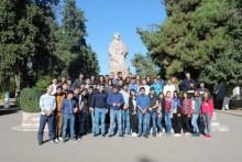 По совместной инициативе МО РПА и Студенческого совета АГЭУ 50 студентов посетили линию фронта