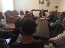 Sitting of Getap initial organization of Eghegnadzor regional organization was held