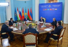 STARTED A SESSION OF THE CSTO COLLECTIVE SECURITY COUNCIL IN THE RESTRICTED FORMAT
