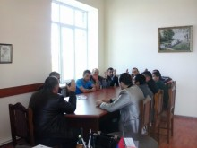 Reporting meeting of Norashen initial organization of RPA Gegharkunik territorial organization was held