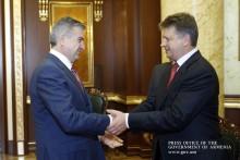Карен Карапетян и Максим Соколов обсудили широкий круг вопросов армяно-российского сотрудничества