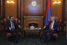 Galust Sahakyan Receives Ambassador of Kuwait to Armenia