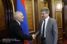 PM, EU Ambassadors Discuss EU-Armenia Cooperation