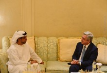 PRESIDENT MET WITH THE HEADS OF THE UAE INVESTMENT AND DEVELOPMENT COMPANIES OF THE UAE