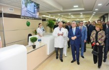 PRESIDENT ATTENDED THE OPENING CEREMONIES FOR THE MODERNIZED HEMATOLOGY CENTER AND THE NEWLY RENOVATED MARTIROS SARIAN HOME MUSEUM