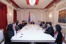 Г.Саакян принял участников проводимого в Армении международного форума