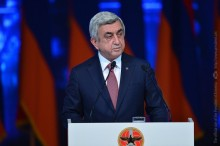 SUMMARY REPORT BY SERZH SARGSYAN AT THE 16TH CONVENTION OF THE REPUBLICAN PARTY OF ARMENIA
