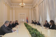 PRESIDENT RECEIVED HEADS OF DELEGATIONS OF THE CUSTOMS AGENCIES OF THE EEU MEMBER STATES