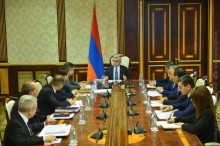 PRESIDENT INVITED A MEETING ON THE MACROECONOMIC DEVELOPMENTS IN ARMENIA AND INDICATORS OF THE STATE BUDGET FOR YEAR 2017