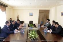 Мэр Тарон Маргарян встретился с чрезвычайным и полномочным послом Кувейта в РА