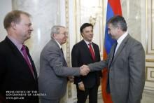 Премьер-министр принял содокладчиков по вопросам Армении мониторинговой комиссии ПАСЕ
