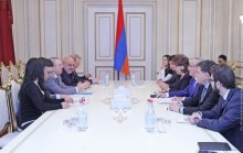 Galust Sahakyan Receives Co-Rapporteurs of PACE Monitoring Committee for Armenia