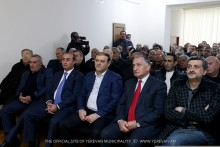 Քաղաքապետ Տարոն Մարգարյանը ներկա է գտնվել Արցախյան գոյամարտի մասնակից, գնդապետ Տարոն Խաչատրյանի 60-ամյակին նվիրված հուշ-երեկոյին