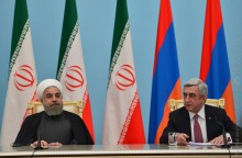 PRESIDENTS OF ARMENIA AND IRAN RECAPPED THE RESULTS OF THE MEETING