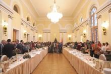 Председатель НС Г.Саакян принял в парламенте представителей СМИ