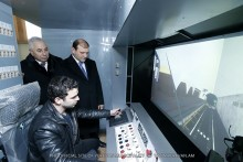 Mayor Taron Margaryan familiarizes himself with activities fulfilled within Metro renovation program
