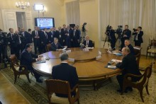PRESIDENT SERZH SARGSYAN PARTICIPATED AT THE SESSION OF THE CSTO COLLECTIVE SECURITY COUNCIL IN SAINT PETERSBURG