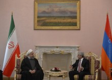 HIGH LEVEL ARMENIAN-IRANIAN NEGOTIATIONS TOOK PLACE AT THE PRESIDENTIAL PALACE