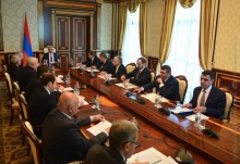 PRESIDENT SERZH SARGSYAN INVITED A MEETING OF THE NATIONAL SECURITY COUNCIL