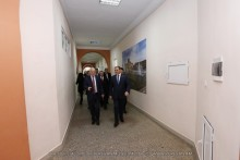 Mayor Taron Margaryan visited National University of Architecture and Construction