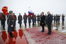 Armenian, Russian Prime Ministers Meet in Moscow