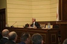 REMARKS OF THE PRESIDENT OF ARMENIA, CHAIRMAN OF THE RPA SERZH SARGSYAN AT THE RPA SESSION