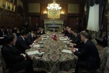 Председателя НС РА принял председатель Палаты представителей Парламента Японии