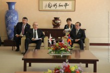 Mayor of Hiroshima Meets with the Delegation Led by Galust Sahakyan