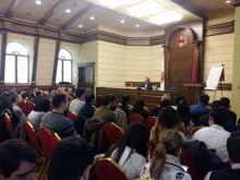 ЕврАзЭС Владимир Анатольевич Лепехин выступил с лекцией