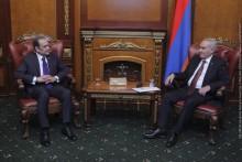 Г.Саакян принял посла Египта в Армении