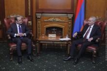 Galust Sahakyan Receives Ambassador of Egypt to Armenia