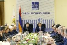 Тарон Маргарян: 2017-й является завершающим годом четырёхлетней программы развития Еревана, и хочу с радостью отметить, что есть все предпосылки для ее полноценной реализации