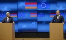 Նախագահ Սերժ Սարգսյանը հանդիպում է ունեցել ԵԽ նախագահ Դոնալդ Տուսկի հետ