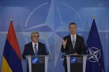 PRESIDENT MET WITH THE NATO SECRETARY GENERAL JENS STOLTENBERG
