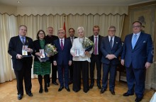 PRESIDENT SARGSYAN IN BRUSSELS MET WITH A GROUP OF MEMBERS OF THE EUROPEAN PARLIAMENT